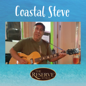 Coastal Steve playing today at brunch