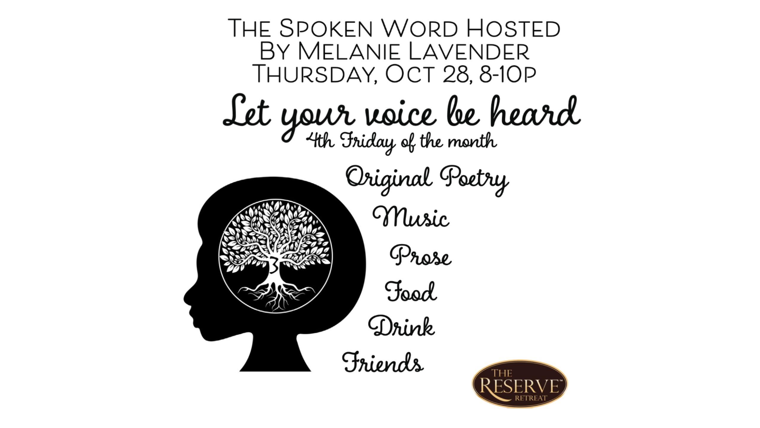 the spoken word announcement